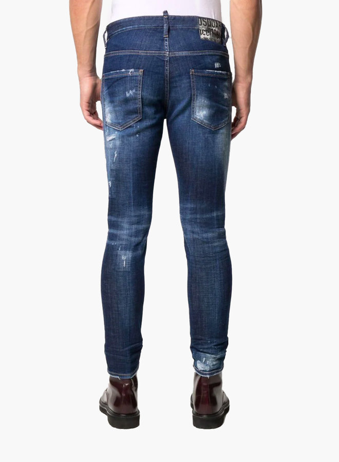 Dsquared2 Ripped Detail Skater Jeans