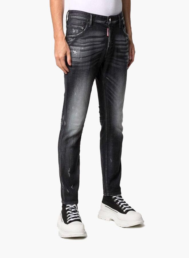 Dsquared2 Plain Distressed Skater Jeans