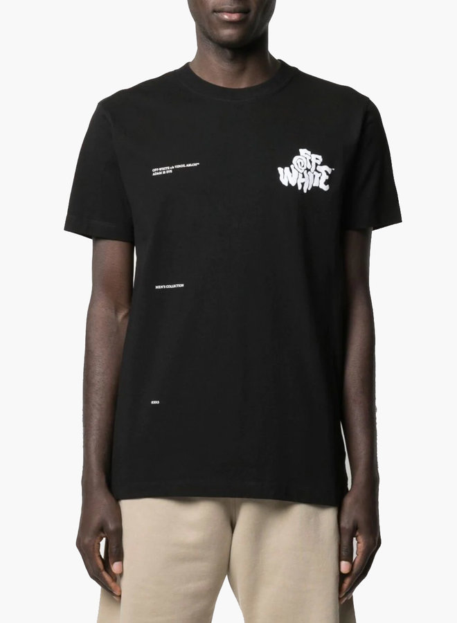 Off-White S/S Slim Fit Blur T-Shirt