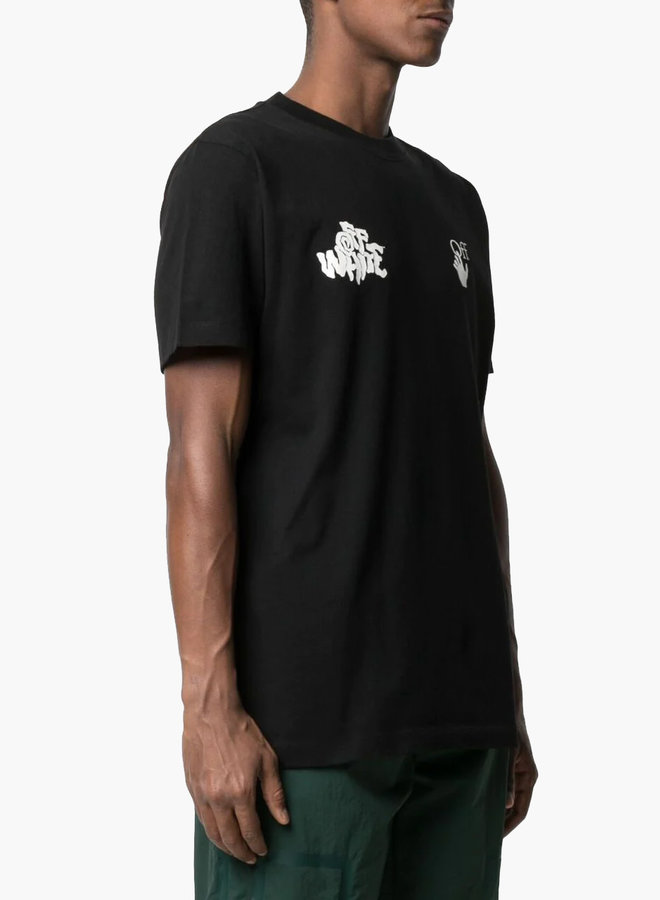 Off-White S/S Slim Fit Tongue Out T-Shirt