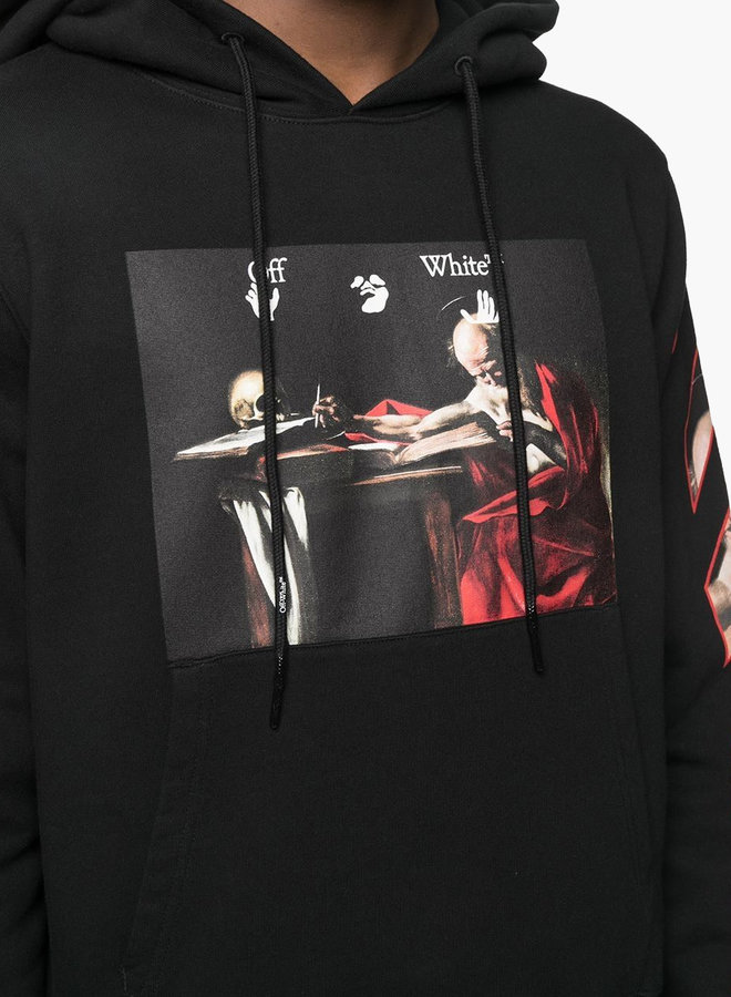 Off-White Caravaggio Red Arrow Hoodie