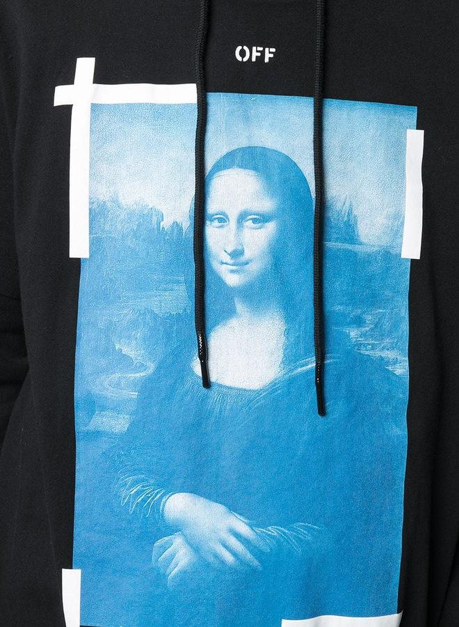 Off-White Mona Lisa Double Tee Hoodie