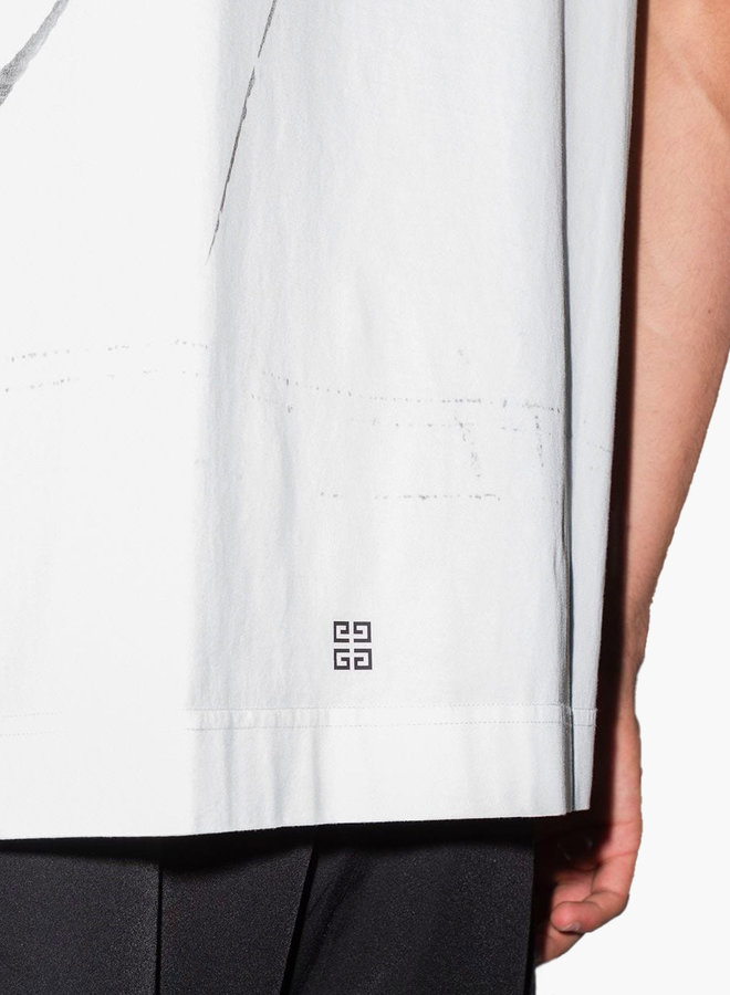 Givenchy Brushstroke Cross T-Shirt