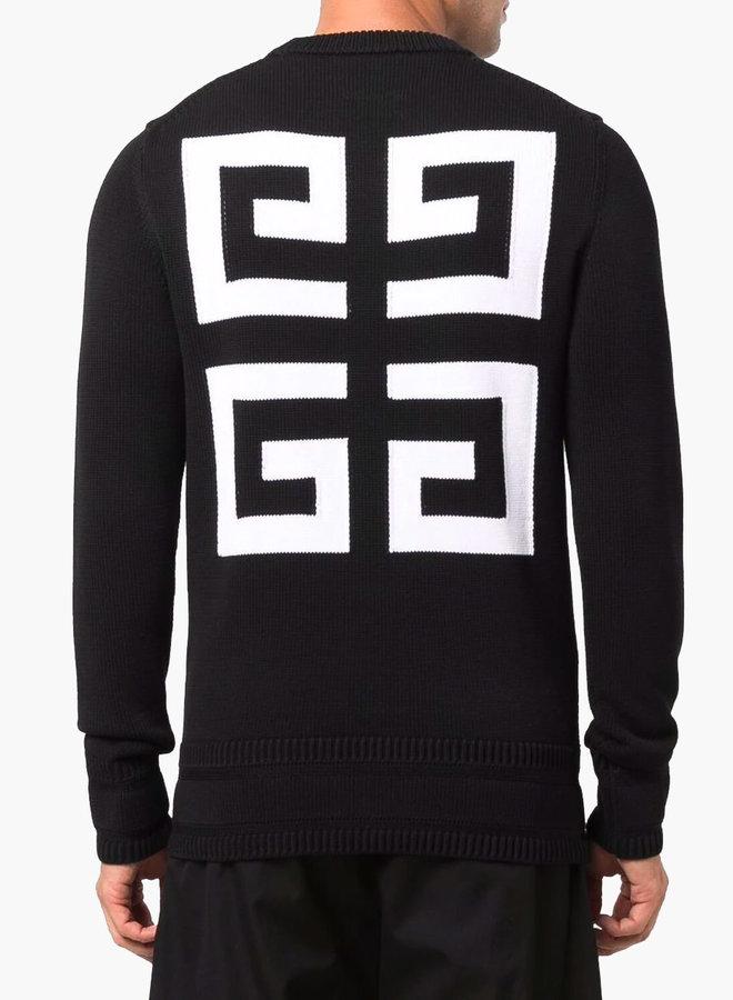 Givenchy Big Logo Crewneck Knitwear