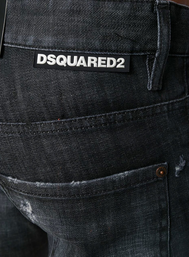 Dsquared2 Horizontal Label Skater Jeans