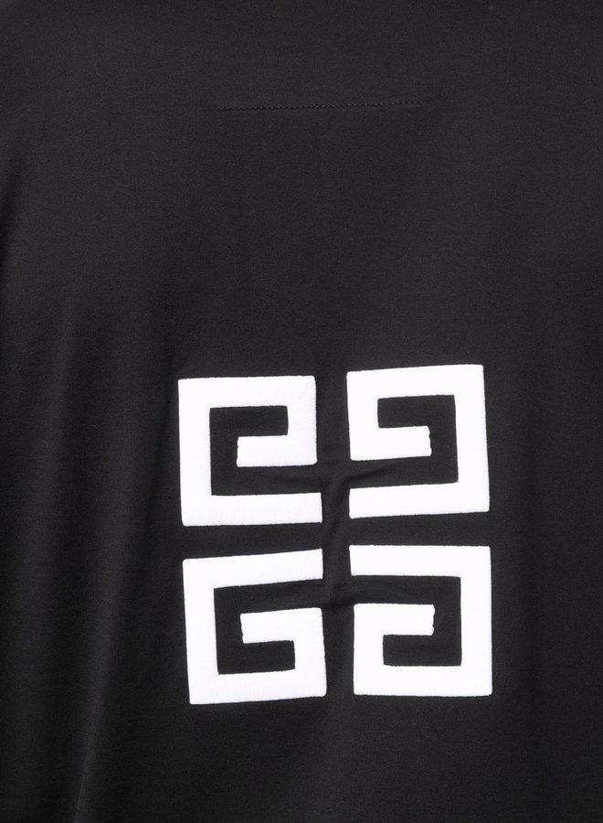 Givenchy 4G Back + Big Logo T-Shirt
