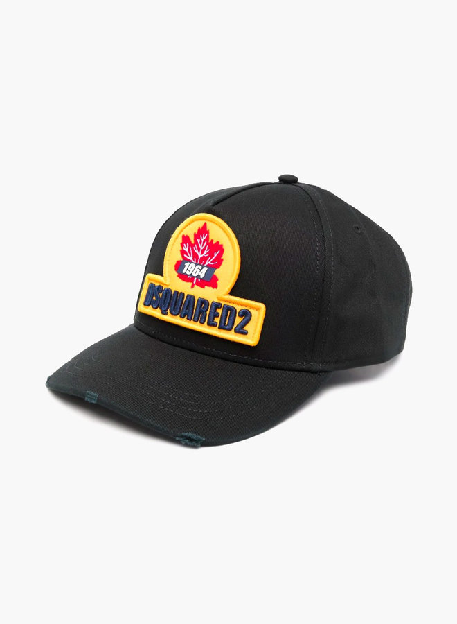 Dsquared2 Yellow Maple Patch Cap