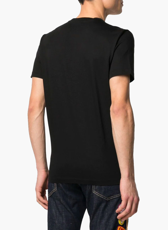 Dsquared2 Red Maple Logo T-Shirt