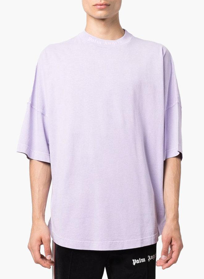 Palm Angels Oversized Mock Neck T-Shirt