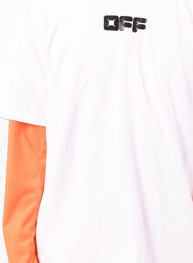 Off-White Arrows Font S/S Oversized T-Shirt