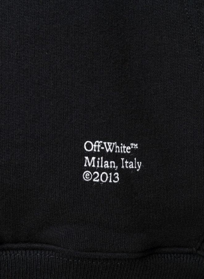 Off-White Caravaggio Arrows B&W Hoodie