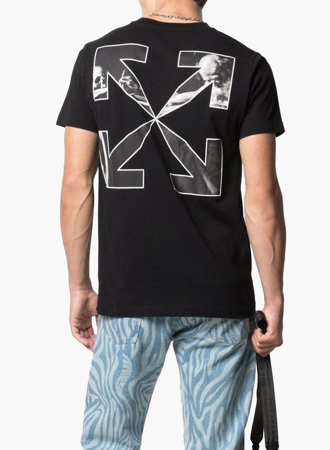 Off-White Caravaggio Arrows B&W Slim T-Shirt