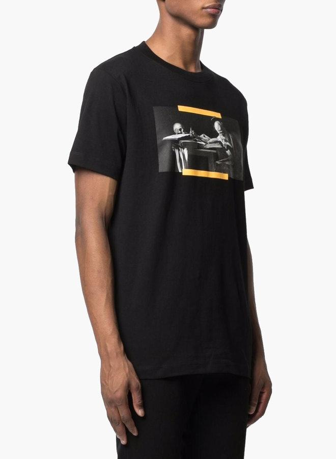 Off-White Caravaggio Yellow Arrows S/S Slim T-Shirt