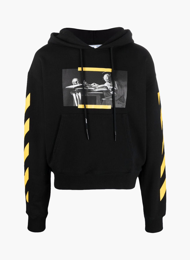 Off-White Caravaggio Yellow Arrows Hoodie