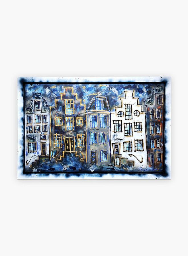 Rick Triest Herengracht Schilderij