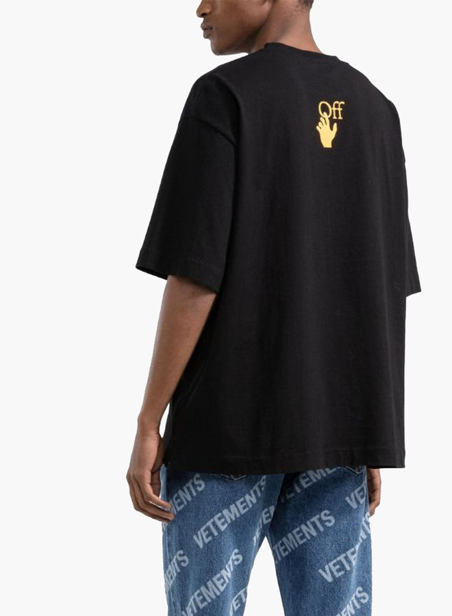 Off-White Caravaggio Yellow Arrows S/S Oversized T-Shirt