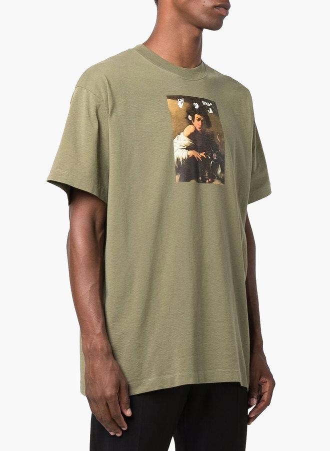 Off-White Caravaggio Boy S/S Oversized T-Shirt