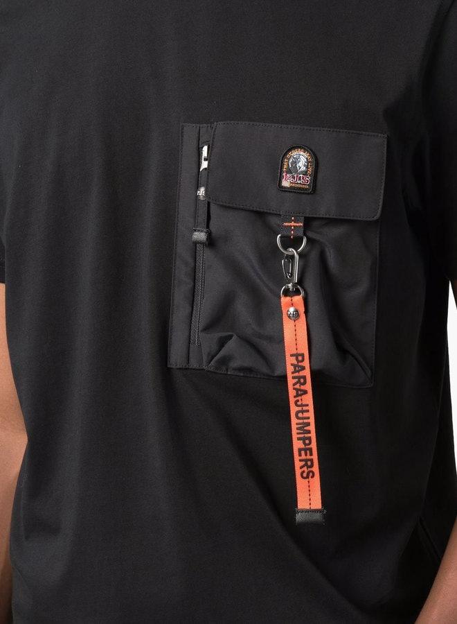 Parajumpers Pocket Zipper T-Shirt