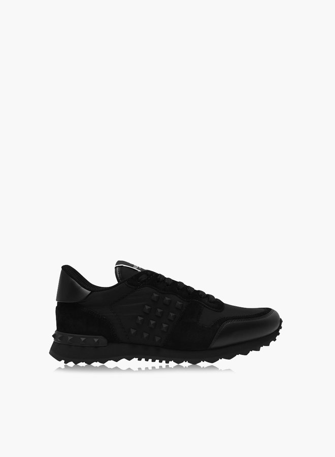 Valentino Rockstud Nylon Sneaker