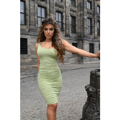 UNIQUE THE LABEL Lily Dress Sage Green