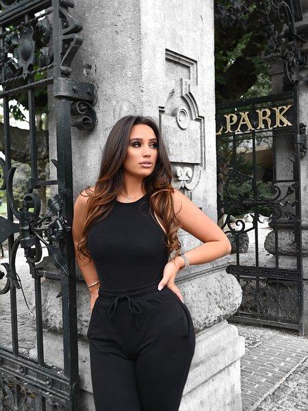 Zoe Body Lurex Black