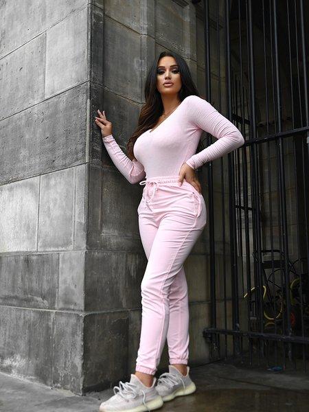 Kim Jogger Bright Pink