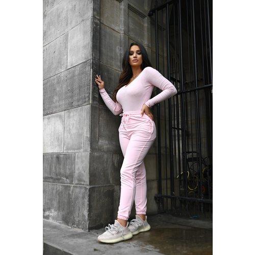 UNIQUE THE LABEL Kim Jogger Bright Pink