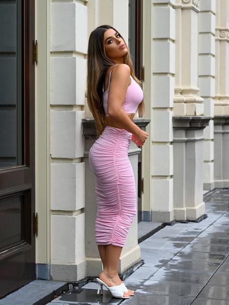 UNIQUE THE LABEL Chelsea Two Piece Pink