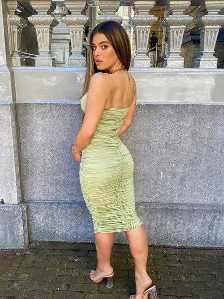Khloe Dress Sage Green