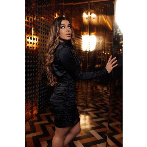 UNIQUE THE LABEL Holly Dress Black