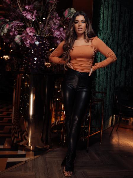 UNIQUE THE LABEL Lynn Bodysuit Copper