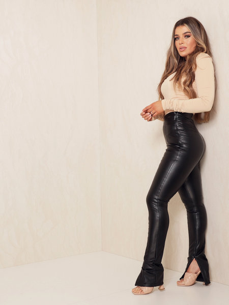 Kendall Leather Pants