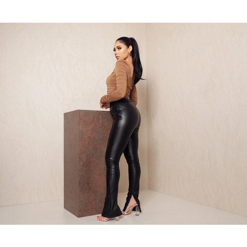 UNIQUE THE LABEL Jazz Split Leather Pants