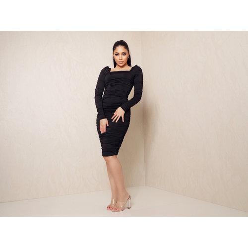 UNIQUE THE LABEL Lynn Dress Black