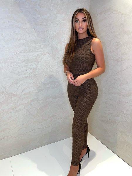 Olivia Crop Top - Chocolate