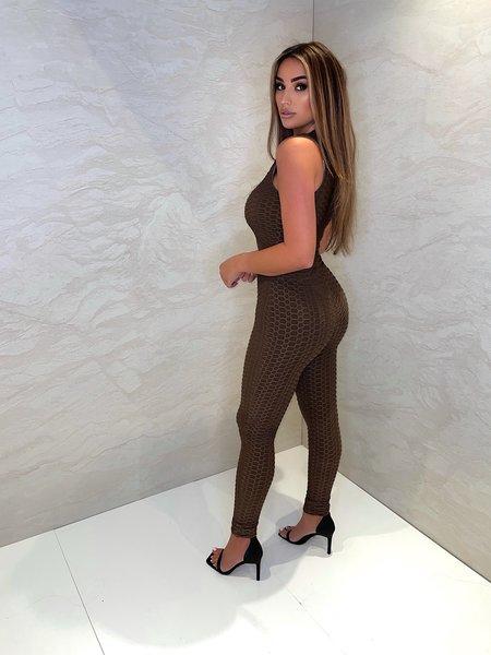 UNIQUE THE LABEL Olivia Legging - Chocolate