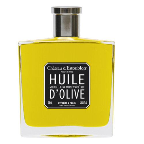 Chateau d'Estoublon Flacon Couture  - Etui Blanc Extra vierge olijfolie