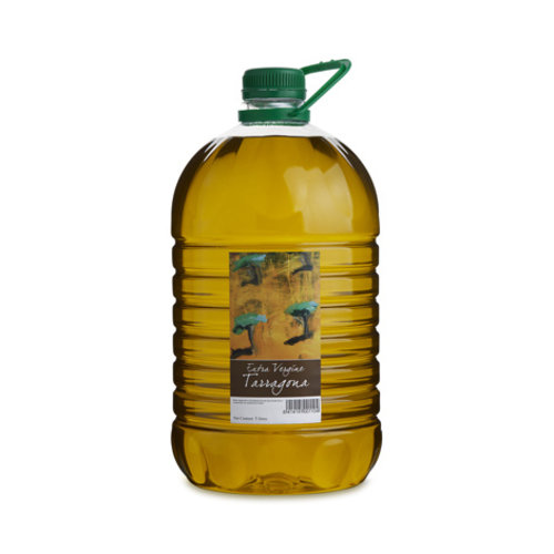 Olive oil in bulk packaging