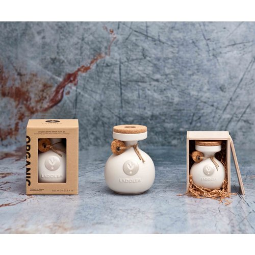 Ladolea Ceramic pot Ladolea White - BIO