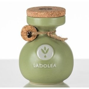 Ladolea Ceramic pot  Green 200ml - BIO