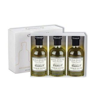 Chateau d'Estoublon Lot de 3 Huile d'olive extra vierge