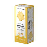 Traditional crackers with Parmesan