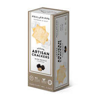 Traditional crackers with white truffle
