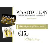 Gift voucher for € 15.00