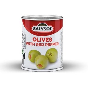 SalySol Cans with stuffed olives