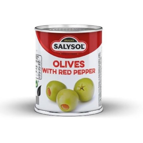 SalySol Cans with stuffed olives (48 cans)