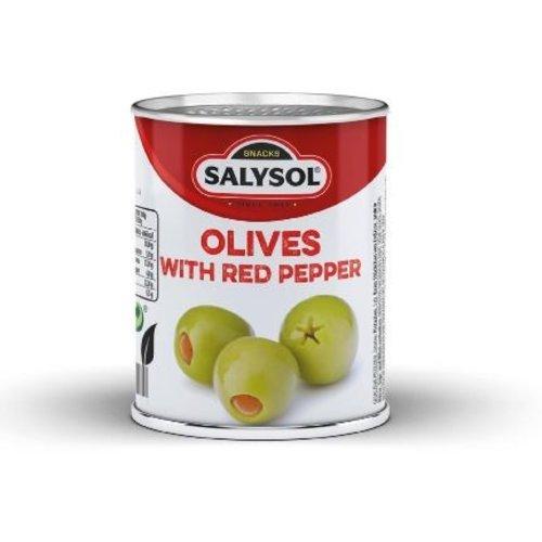 SalySol Boîtes aux olives farcies  (48 canettes)