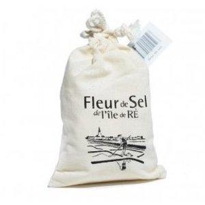 Fleur de Sel l'île de RÉ Fleur de Sel l'île de Ré dans un sac en toile