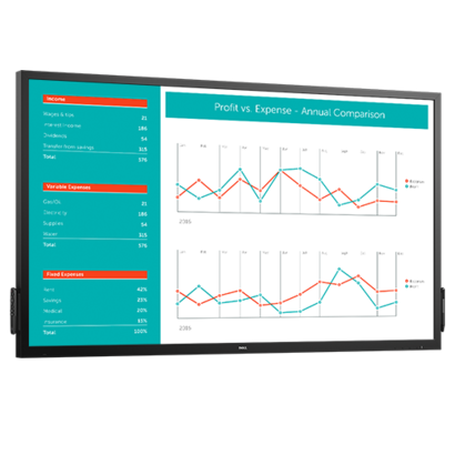 Dell Interactieve monitor: C7017T