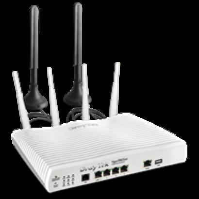 Draytek VIGOR 2862 LTE 4G-MODEM met SIM-card slot & 802.11AC Wireless